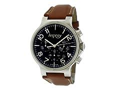 No 8 Round Stainless Steel Watch