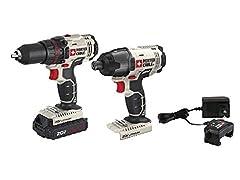 20V MAX 2-Tool Cordless Drill Combo Kit