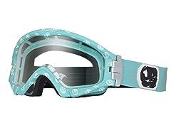 Series 3 MX Goggles PowderSkulls, Turq