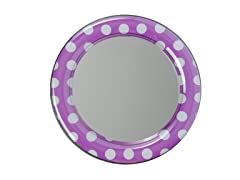 Mirror - Purple Polka Dot