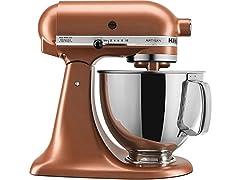 KitchenAid 5-Quart Tilt-Head Stand Mixer, Copper Pearl