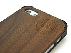Walnut Case for iPhone 5