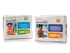 Munchkin Baby Wipes - 736 Wipes 2-Choices
