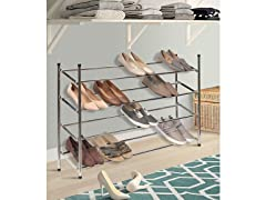 4 Tier Expandable Shoe Rack