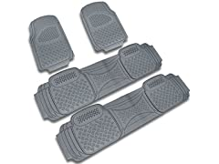 Spec-D Tuning PVC Floor Mat - 4 Pieces Set