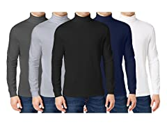 Men's 3-Pack Assorted Turtle Neck Tee