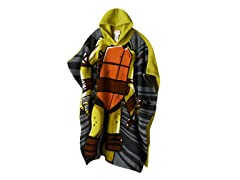 TMNT Hooded Poncho - Youth