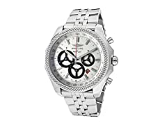 Silver Dial Stainless Steel Chronograph