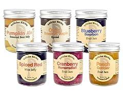 Potlicker Jams and Jellies 6ct