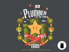 1985: Year of the Plumber Unisex Tank