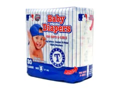 Texas Rangers Diapers (160-192ct)