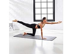 AmazonBasics TPE & Suede Yoga Mat