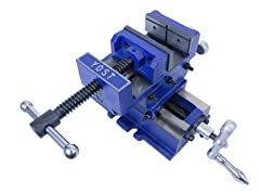 "Yost 4"" Heavy Duty Cross Slide Vise"