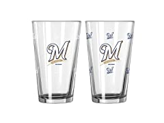 MLB Color Changing Pint Glass (Single)