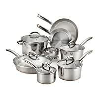 Deals on T-fal Ultimate 13-Pc Stainless Steel Cookware Set