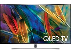 "Samsung 55"" or 65"" Class Q7C Curved QLED 4K TV"