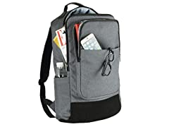 "Worthtrust 17.3"" Laptop Backpack, Grey"