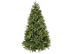 """Greensboro  Tree 7'5"""" Prelit Clear"""