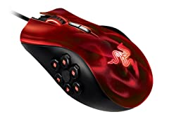 Naga Hex Gaming Mouse - Wraith Red