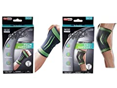 Palm and Knee Support Sleeve Brace