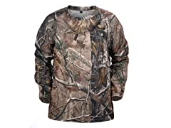Lucky Bums Realtree Youth Performance Long Sleeve