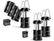 Vont Collapsible Lanterns 4-Pack