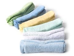 Wash Cloths (set of 6) Blue