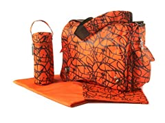 Kalencom Diaper Bag - Ripstop Orange