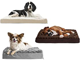 FurHaven Deluxe Orthopedic Pet Bed