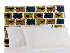 Upholstered Headboard Rex Stellar Blue
