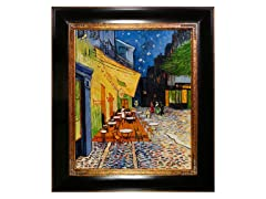 Van Gogh - Cafe Terrace at Night: 20X24