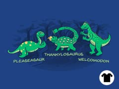 Pleaseasaur and Thank You