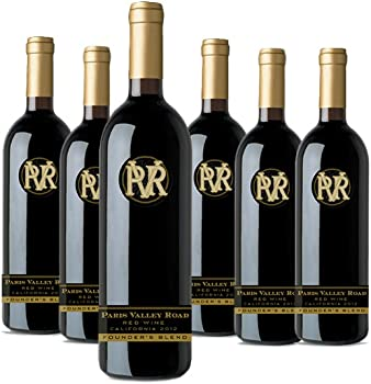 6-Pack Paris Valley Road Red Blend Wine