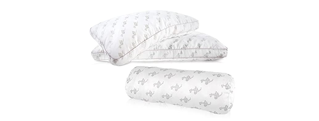 MyPillow 2PK Giza Cotton Pillow & Bolster