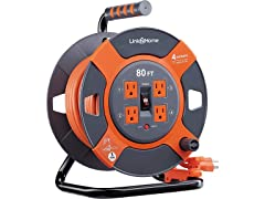 Link2Home 80' Extension Cord Reel