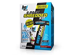 Best BCAA Shredded LE Kit