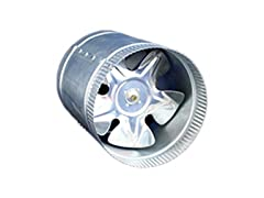 iPower 6-Inch Inline Ducting Booster Fan