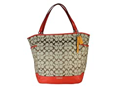 Park Signature North/South Tote, Orange