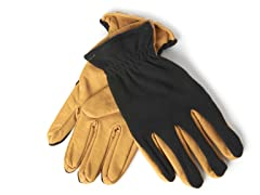 Gordini Men's Leather/Fleece Gloves