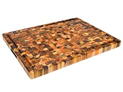 End Grain Carving Board w/ Juice Canal