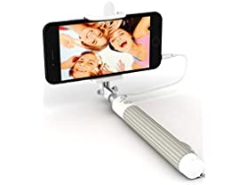 Premium 5-in-1 Wired Selfie Stick