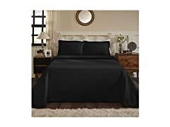 Superior 100% Cotton Medallion Bedspread with Shams