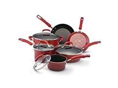 Rachael Ray Hard Enamel Nonstick 10pc Cookware