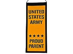 Army Proud Parent Mini Banner