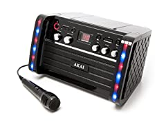 Akai Top Load CD+G Karaoke System