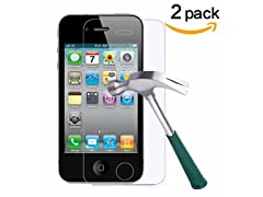 TANTEK Tempered Glass Screen Protectors iPhone 4/4s