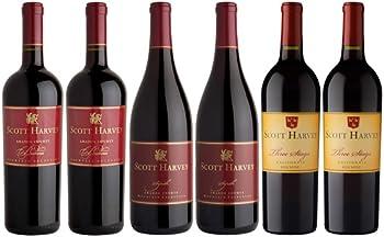 6-Packs Scott Harvey Mixed Red Wine