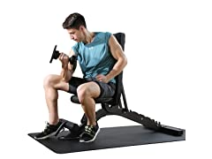 Finer Commercial Adjustable Weight Bench