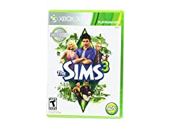 Sims 3 Platinum Hits Edition - Xbox 360