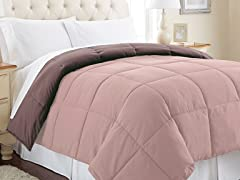 Down Alt. Comforter - King- 12 Colors